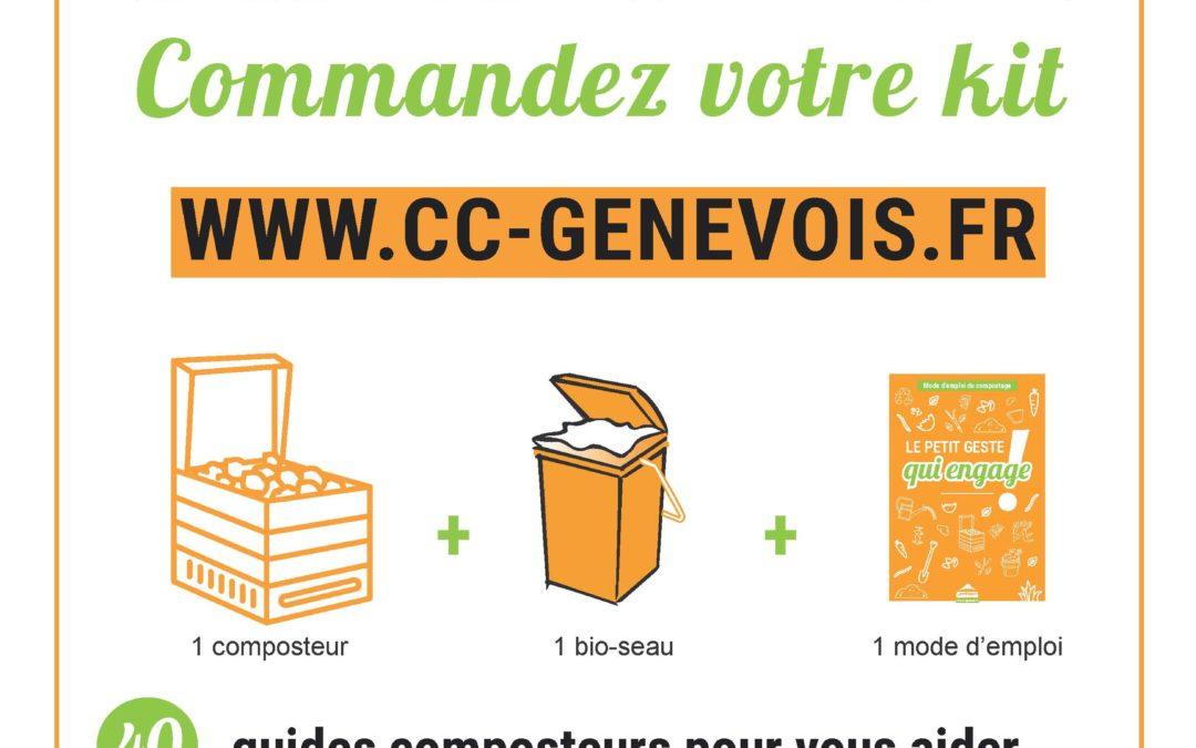 Compostage – Commandez votre kit